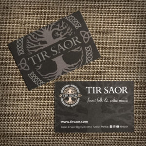TÍR SAOR Visitenkarten